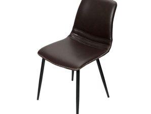Καρέκλα XEL103K2 D.Brown 46x58x71cm Espiel