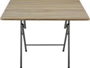Τραπέζι Πτυσσόμενο 774364 90x70x70 Natural Ankor