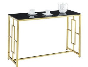 Κονσόλα Yara Black-Gold 120X40X78 HM8621.02