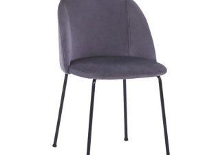 Καρέκλα Clara Grey HM8545.01 50x54x79Υ εκ.