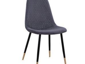Καρέκλα Lucille HM8552.01 Grey 45Χ56Χ81Υ εκ.