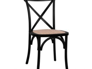 Καρέκλα Owen Black HM8575.02 45×55,5×90 εκ.