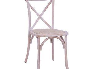 Καρέκλα Owen White Wash HM8575.04 45×55,5×90 εκ.