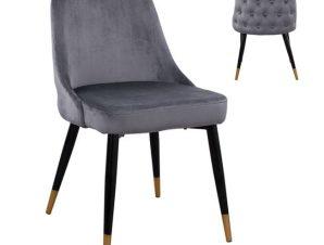 Καρέκλα Serenity HM8527.01 Grey 51Χ58Χ83Υ εκ.