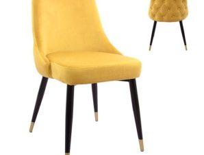 Καρέκλα Serenity HM8527.09 Gold 51x58x83Υ εκ.