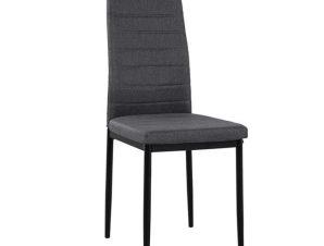 Καρέκλα Lady HM0037.20 Grey 40x48x95 εκ.