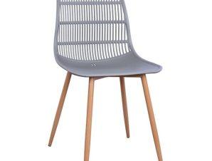 Καρέκλα Giosseta HM8513.10 Grey 46X51X84Y εκ.