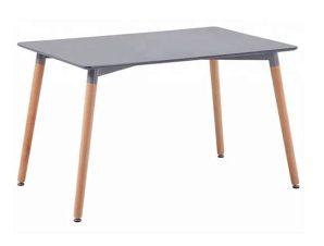 Τραπέζι Minimal 160Χ90X74Υεκ. Grey Natural HM8697.10