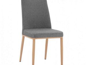 Καρέκλα Eilish HM8727.01 43X55X92cm Grey