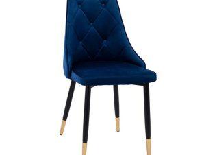 Καρέκλα Fannie HM8701.08 49x53x88Υcm Blue