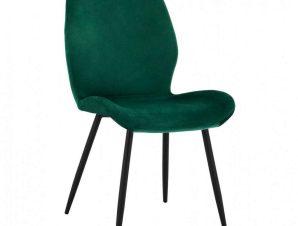 Καρέκλα Klay HM8730.03 49X62,5X87cm Forest Green-Black
