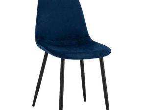 Καρέκλα Leonardo HM00100.08 43x54x88Υcm Blue