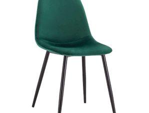 Καρέκλα Leonardo HM00100.23 45x53x85Υcm Forest Green