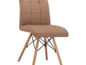 Καρέκλα Rosa HM0024.23 43x57x84Υcm Cappuccino