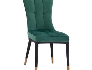 Καρέκλα Sammy HM8722.03 46x54x95Υcm Forest Green-Black