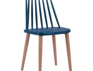 Καρέκλα Vanessa HM8052.05 43×46,5×82Υcm Blue