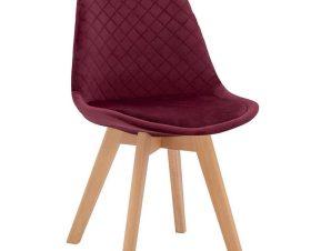 Καρέκλα Venice HM8719.06 49x56x84Υcm Red