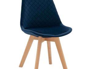 Καρέκλα Venice HM8719.08 49x56x84Υcm Blue
