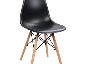 Καρέκλα Με κάθισμα Twist PP HM8460.02 46x50x82cm Black