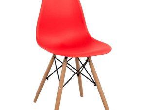 Καρέκλα Με κάθισμα Twist PP HM8460.04 46x50x82cm Red