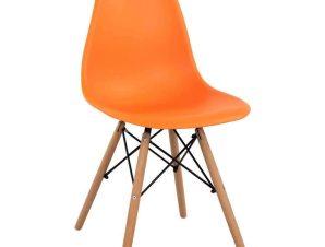 Καρέκλα Με κάθισμα Twist PP HM8460.06 46x50x82cm Orange