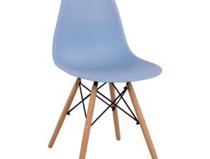 Καρέκλα Με κάθισμα Twist PP HM8460.08 46x50x82cm Light Blue