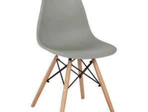 Καρέκλα Με κάθισμα Twist PP HM8460.10 46x50x82cm Grey