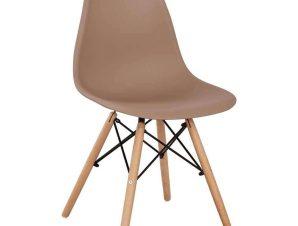 Καρέκλα Με κάθισμα Twist PP HM8460.25 46x50x82cm Cappuccino