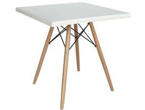 Τραπέζι Randy Werzalit 08.0015 60X60X71/80Χ80Χ4cm Natural