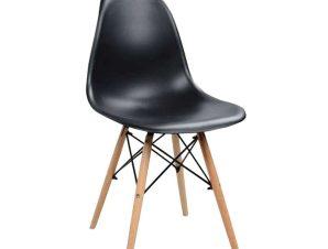 Καρέκλα Τραπεζαρίας Eiffel 42×51,5xΗ81cm Natural-Black 03-0747