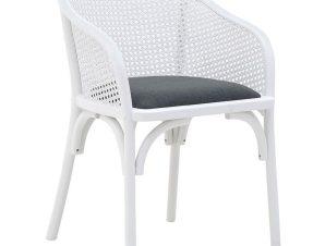 Καρέκλα 3-50-941-0002 55X56X80-50 White-Black Inart
