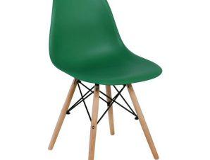 Καρέκλα Art Wood ΕΜ123,4W 46x52x82cm Green