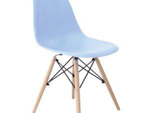 Καρέκλα Art Wood ΕΜ123,5W 46x52x82cm Ciel