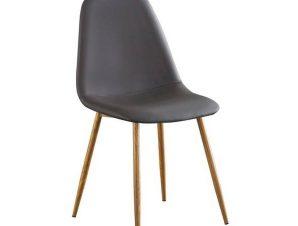 Καρέκλα Celina Natural Grey ΕΜ907,1P 45x54x85cm
