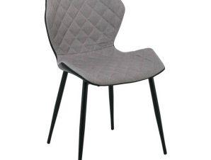 Καρέκλα David Black/Cappuccino ΕΜ809,1 48x51x78cm