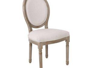 Καρέκλα Jameson Decape/Ecru Ε752,1 49x55x95cm