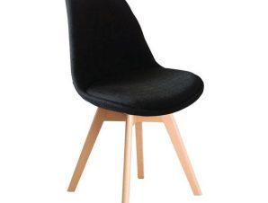Καρέκλα Martin Black ΕΜ136,24F 49x57x82cm