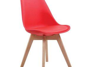 Καρέκλα Martin Red ΕΜ136,34 49x57x82cm