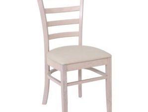 Καρέκλα Naturale-L White Wash/Ecru Ε7052,5 42x50x91cm