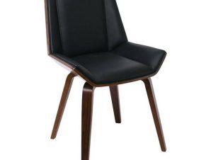 Καρέκλα Numan Wallnut/Black Ε7511,1 52x53x80cm