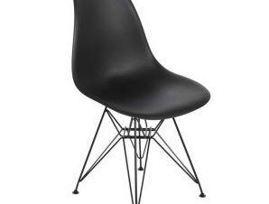 Καρέκλα Art ΕΜ127,2 46x55x82cm Black