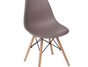 Καρέκλα Art Wood ΕΜ123,91W 46x52x82cm Sand-Beige