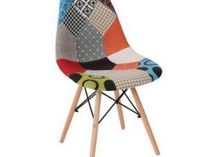 Καρέκλα Art Wood ΕΜ123,8 47x52x84cm Natural-Multi