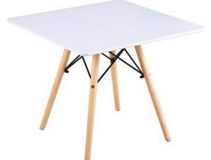 Τραπέζι Art Wood Kid Ε708Κ,1 60x60x49cm White