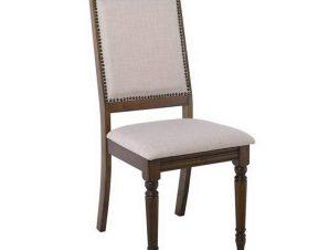 Καρέκλα Barco Ε798,Κ 48x57x98cm Walnut-Beige