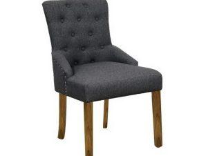 Καρέκλα Bocca Ε7702,2 56x63x93cm Natural-Grey
