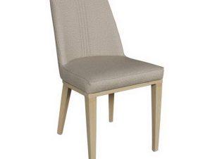 Καρέκλα Caster ΕΜ157,2 45x60x89cm Natural-Beige