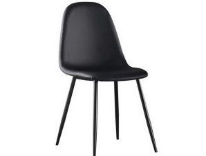 Καρέκλα Celina ΕΜ907,4ΜP 45x54x85cm Black