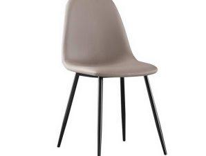 Καρέκλα Celina ΕΜ907,3ΜP 45x54x85cm Black Cappuccino