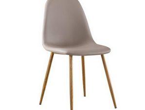 Καρέκλα Celina ΕΜ907,3P 45x54x85cm Natural-Cappuccino